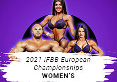 2021 IFBB European - Women's
