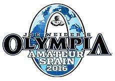 2016 IFBB Olympia Amateur Spain, Marbella