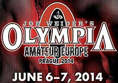 Olympia Amateur Europe 2014, Prague