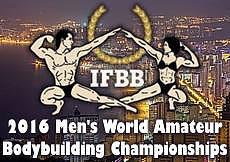 2016 IFBB World Bodybuilding Championships, Benidorm