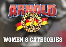 2019 Arnold Classic Europe - Women's Categories