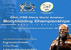 68th IFBB Men's World Amateur Bodybuilding Championships