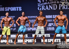 2015 Sweden GP - mens physique overall