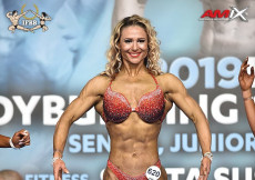Fitness plus 163cm - 2019 European Championships