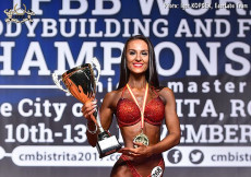 2017 Junior World Championships Bikini plus 166cm