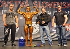 2014 Majstrovstvá Slovenska - klasik kulturistika juniorov