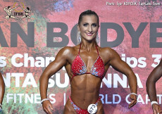 2017 European - Bodyfitness 158-163cm