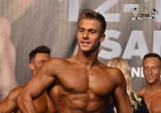 2015 EBFF Championships - Junior M Physique over 175cm