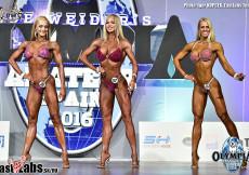 2016 Olympia Spain - fitness bikini OVERALL