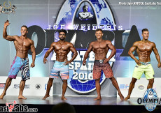 2016 Olympia Spain - mens physique OVERALL