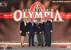 2015 Olympia Am Moscow - Backstage