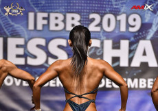 2019 WFC - Bodyfitness 158cm