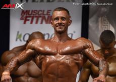 2017 AMIX Cup - Bodybuilding mužov, Jakub Kopček