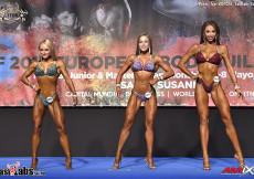 2017 European - OVERALL Junior Bikinifitness