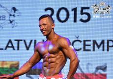 2015 Latvian Championships - Men´s Physique