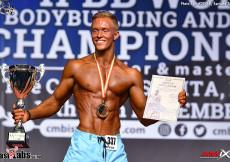 2017 Junior World Champ Mens Ph plus 178cm