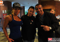 2014 EVL´S Prague PRO - weight-in and backstage