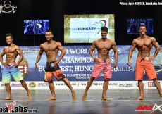 2015 World Fitness - M Physique OVERALL
