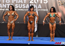2015 EBFF Championships - Womens Physique Overall