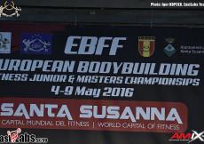 2016 European Ch. - mens physique
