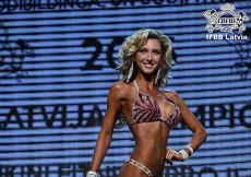 2015 Latvian Championships - Fitness Bikini up to 169cm