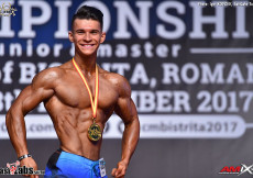 2017 Junior World Champ Mens Ph 178cm