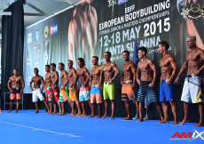 2015 EBFF Championships - Mens Physique 178cm