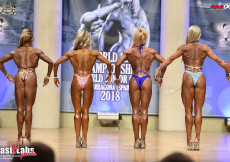 2018 World Master - Bodyfitness over 45y