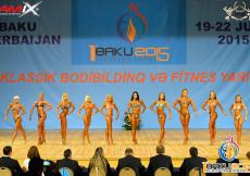 1st European Games BAKU - Women´s Fitness