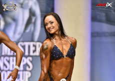 2018 World Master - Mária Renčková, Bodyfitness