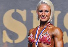 2014 Majstrovstvá Európy, bodyfitness do 158cm