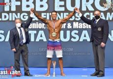 2021 European - Master Men's Physique Overall