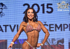 2015 Latvian Championships - Fitness Bikini up to 163cm