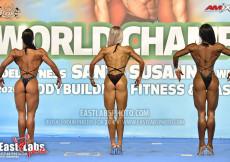 2020 World, Saturday - Bodyfitness Overall