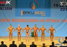 1st European Games BAKU - Classic Bodybuilding 180cm