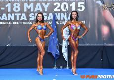 2015 EBFF Championships - Womens Fitness Overall