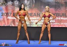 2017 European - OVERALL Masters Bikini