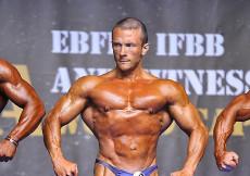 2014 Majstrovstvá Európy, kulturistika do 75kg