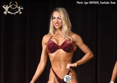 2017 Diamond Ostrava - Bikinifitness 172cm plus
