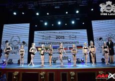 2015 Latvian Championships - Oveňovanie víťazov