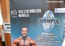 2016 European Ch. - weight in