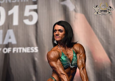 2015 EBFF Championships - Womens Physique