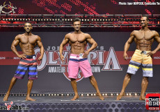 2016 OL Moscow - mens´s physique OVERALL