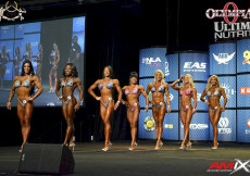 2015 Olympia - Prejudging Fitness Olympia
