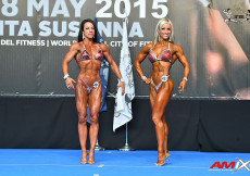 2015 EBFF Championships - Master BFitness Overall