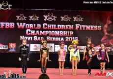 2016 IFBB World Children Champ - Awards