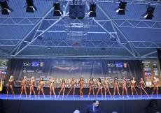 2014 Majstrovstvá Európy, bikini juniorky do 163cm