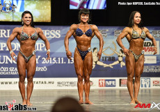 2015 World Fitness - W Physique 163cm