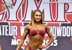2015 Olympia Am Moscow - Bikini 169cm plus Prejudging