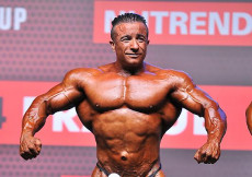 Finále Bodybuilding do 90kg - Olympia Am Prague